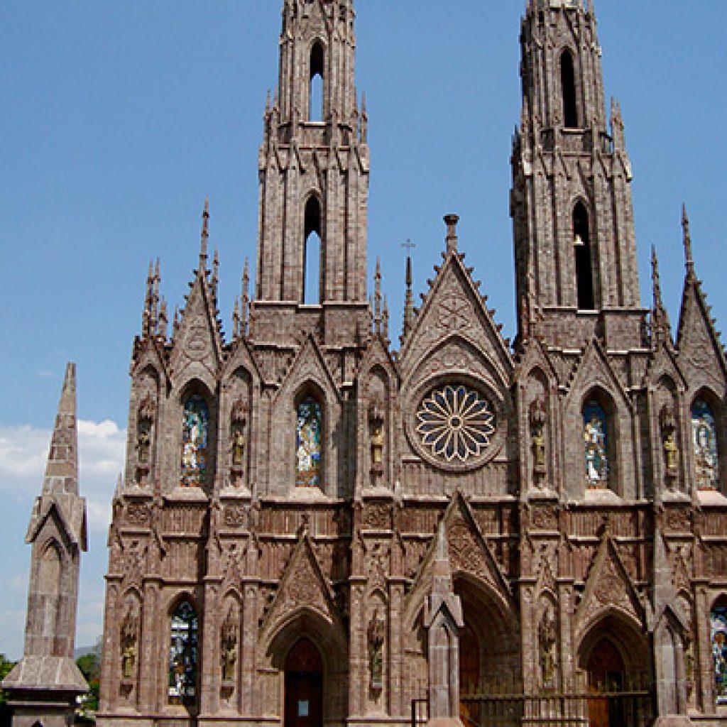 Catedral de la Virgen de Guadalupe en Zamora, de las más bellas de México,