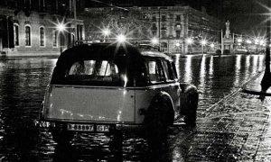 mujer del taxi